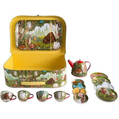 HEARTHSONG / EVERGREEN WOODLAND TEA SET