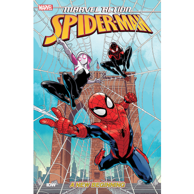 IDW PUBLISHING MARVEL ACTION: SPIDER-MAN: A NEW BEGINNING