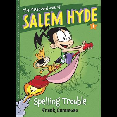 ABRAMS BOOKS MISADVENTURES OF SALEM HYDE 1 SPELLING TROUBLE PB CAMMUSO