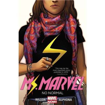 HACHETTE BOOK GROUP MS MARVEL VOL 1 NO NORMAL PB