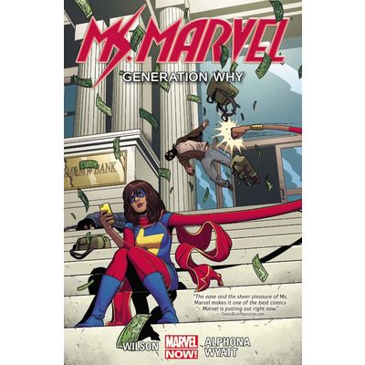 HACHETTE BOOK GROUP MS MARVEL VOL 2 GENERATION WHY PB