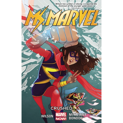 HACHETTE BOOK GROUP MS MARVEL VOL 3 CRUSHED PB