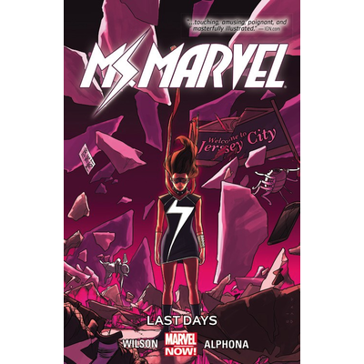 HACHETTE BOOK GROUP MS. MARVEL VOL 4: LAST DAYS