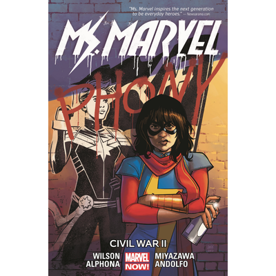 HACHETTE BOOK GROUP MS. MARVEL VOL 6: CIVIL WAR II