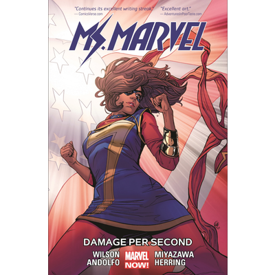 HACHETTE BOOK GROUP MS. MARVEL VOL 7: DAMAGE PER SECOND