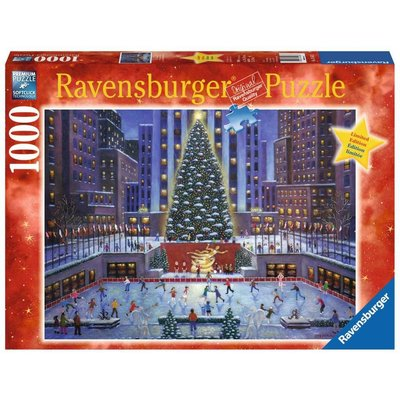 RAVENSBURGER USA NYC CHRISTMAS 1000 PIECE