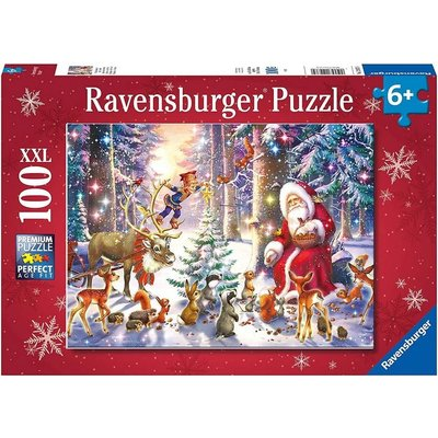 RAVENSBURGER USA CHRISTMAS IN THE FOREST 100 PIECE