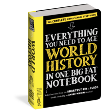 WORKMAN PUBLISHING EVERYTHING WORLD HISTORY NOTEBOOK PB BRAINQUEST