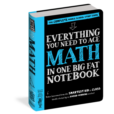 WORKMAN PUBLISHING EVERYTHING TO ACE MATH NOTEBOOK PB BRAINQUEST