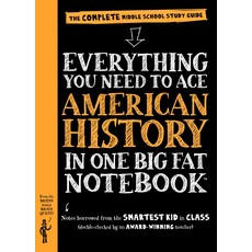 WORKMAN PUBLISHING EVERYTHING YOU NEED TO ACE AMERICAN HISTORY IN ONE BIG FAT NOTEBOOK