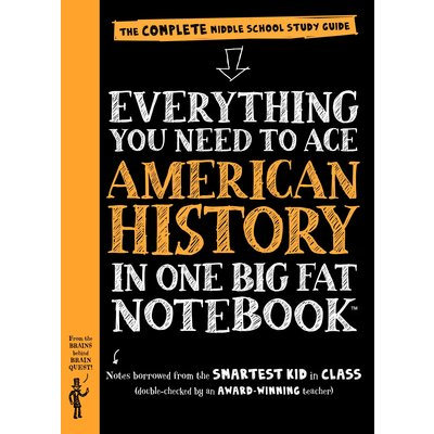 WORKMAN PUBLISHING EVERYTHING TO ACE AMERICAN HISTORY NOTEBOOK PB BRAINQUEST