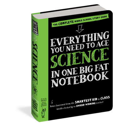 WORKMAN PUBLISHING EVERYTHING SCIENCE NOTEBOOK PB BRAINQUEST