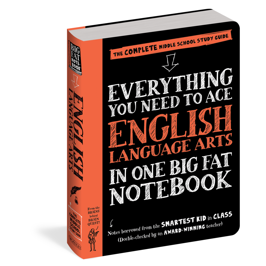 WORKMAN PUBLISHING EVERYTHING YOU NEED TO ACE ENGLISH LANGUAGE ARTS IN ONE BIG FAT NOTEBOOK