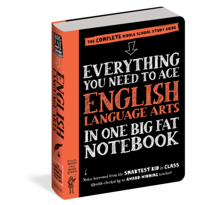 WORKMAN PUBLISHING EVERYTHING ENGLISH LANG. ARTS NOTEBOOK PB BRAINQUEST