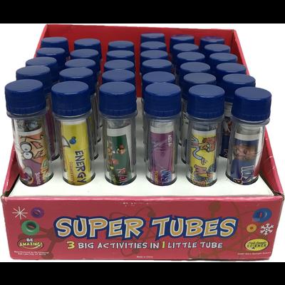 BE AMAZING SUPER TUBES**