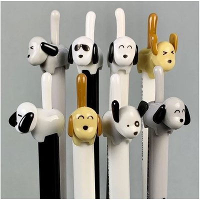BC USA RETRACTABLE FINELINE GEL PEN DOG TAIL
