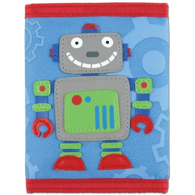 STEPHEN JOSEPH APPLIQUED WALLET CHARACTERS R-Z