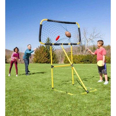 HEARTHSONG / EVERGREEN FOOTBALL AND DISC TARGET KICK N TOSS SET