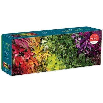 GALISON PLANT LIFE PANORAMIC PUZZLE 1000 PC
