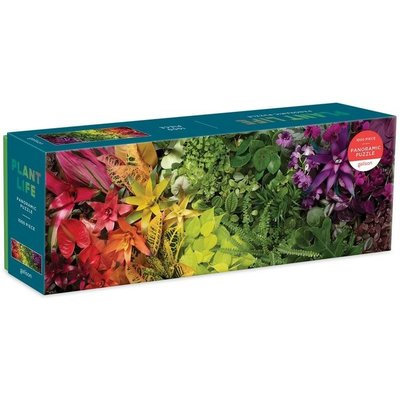 GALISON PLANT LIFE PANORAMIC PUZZLE 1000 PIECE