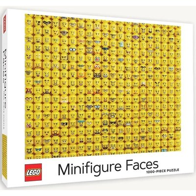 CHRONICLE PUBLISHING LEGO MINIFIGURE FACES PUZZLE 1000 PC