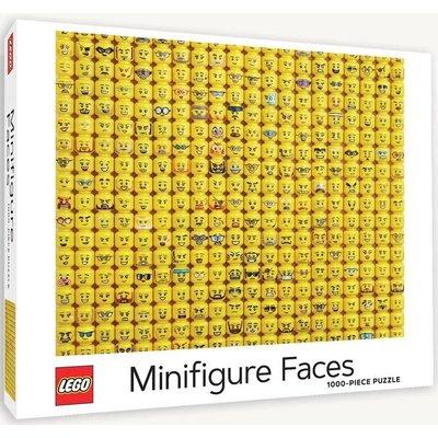 CHRONICLE PUBLISHING LEGO MINIFIGURE FACES PUZZLE 1000 PC