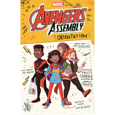 SCHOLASTIC AVENGERS ASSEMBLY 1 ORIENTATION HB CHHIBBER