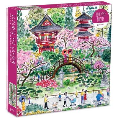 GALISON MICHAEL STORRINGS JAPANESE TEA GARDEN PUZZLE 300 PC