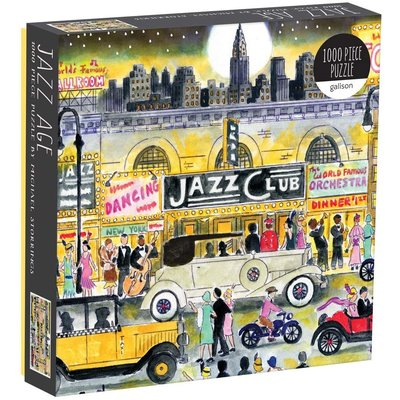 GALISON MICHAEL STORRINGS JAZZ 1000 PIECE