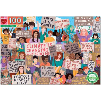 EEBOO CLIMATE MARCH 100 PC PUZZLE
