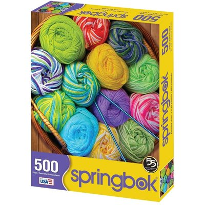 SPRINGBOK COLORFUL YARN 500 PIECE