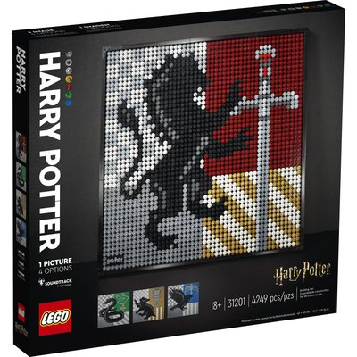 LEGO HARRY POTTER HOGWARTS CRESTS