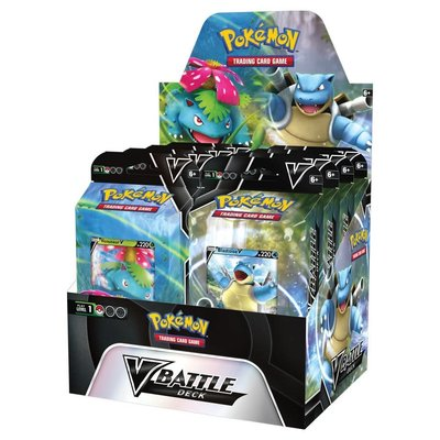 POKEMON INTERNATIONAL POKEMON TCG: V BATTLE DECK — VENASAUR V AND BLASTOISE V