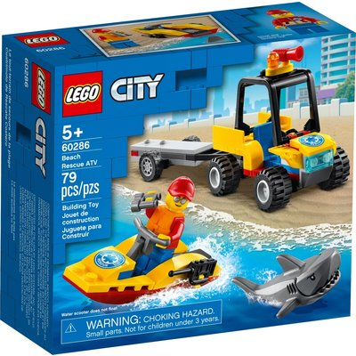 LEGO BEACH RESCUE ATV
