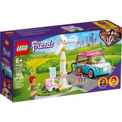 LEGO OLIVIA'S ELECTRIC CAR