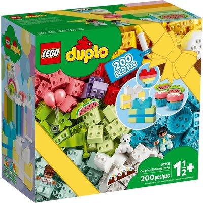 LEGO CREATIVE BIRTHDAY PARTY