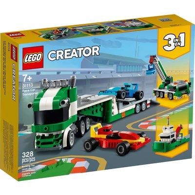LEGO RACE CAR TRANSPORTER CREATOR