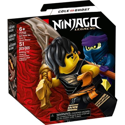 LEGO EPIC BATTLE SET COLE VS. GHOST WARRIOR