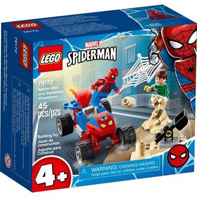 LEGO SPIDER-MAN AND SANDMAN SHOWDOWN