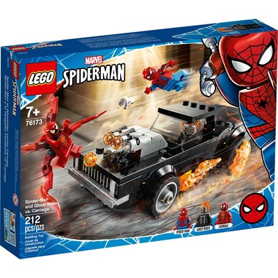 LEGO SPIDER-MAN AND GHOST RIDER VS. CARNAGE