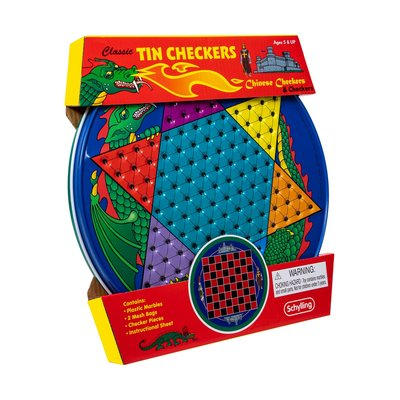 SCHYLLING ASSOCIATES CHINESE CHECKERS TIN