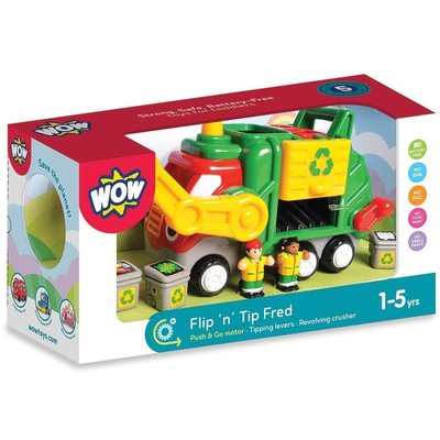 WOW TOYS USA FLIP & TIP FRED WOW