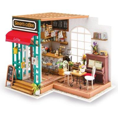 HANDS CRAFT DIY HOUSE SIMONS COFFEE SHOP