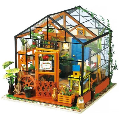 HANDS CRAFT DIY  HOUSE CATHYS  FLOWER HOUSE