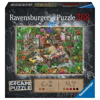 RAVENSBURGER USA THE GREEN HOUSE ESCAPE PUZZLE 368 PIECES