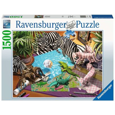 RAVENSBURGER USA ORIGAMI ADVENTURE 1500 PIECE