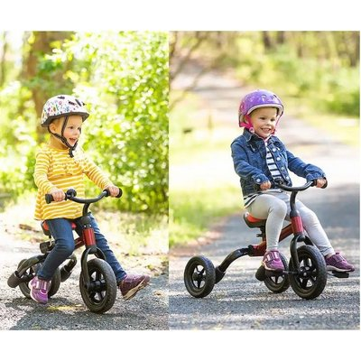 HEARTHSONG / EVERGREEN 2-IN-1 TRICYCLE & BALANCE BIKE