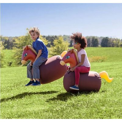 HEARTHSONG / EVERGREEN HOP  'N  GO INFLATABLES HORSE