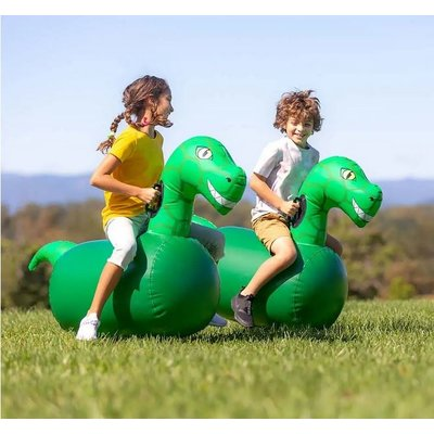 HEARTHSONG / EVERGREEN HOP  'N  GO INFLATABLES DINO