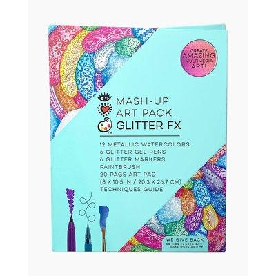 BRIGHT STRIPES MASH UP ART PACK GLITTER FX